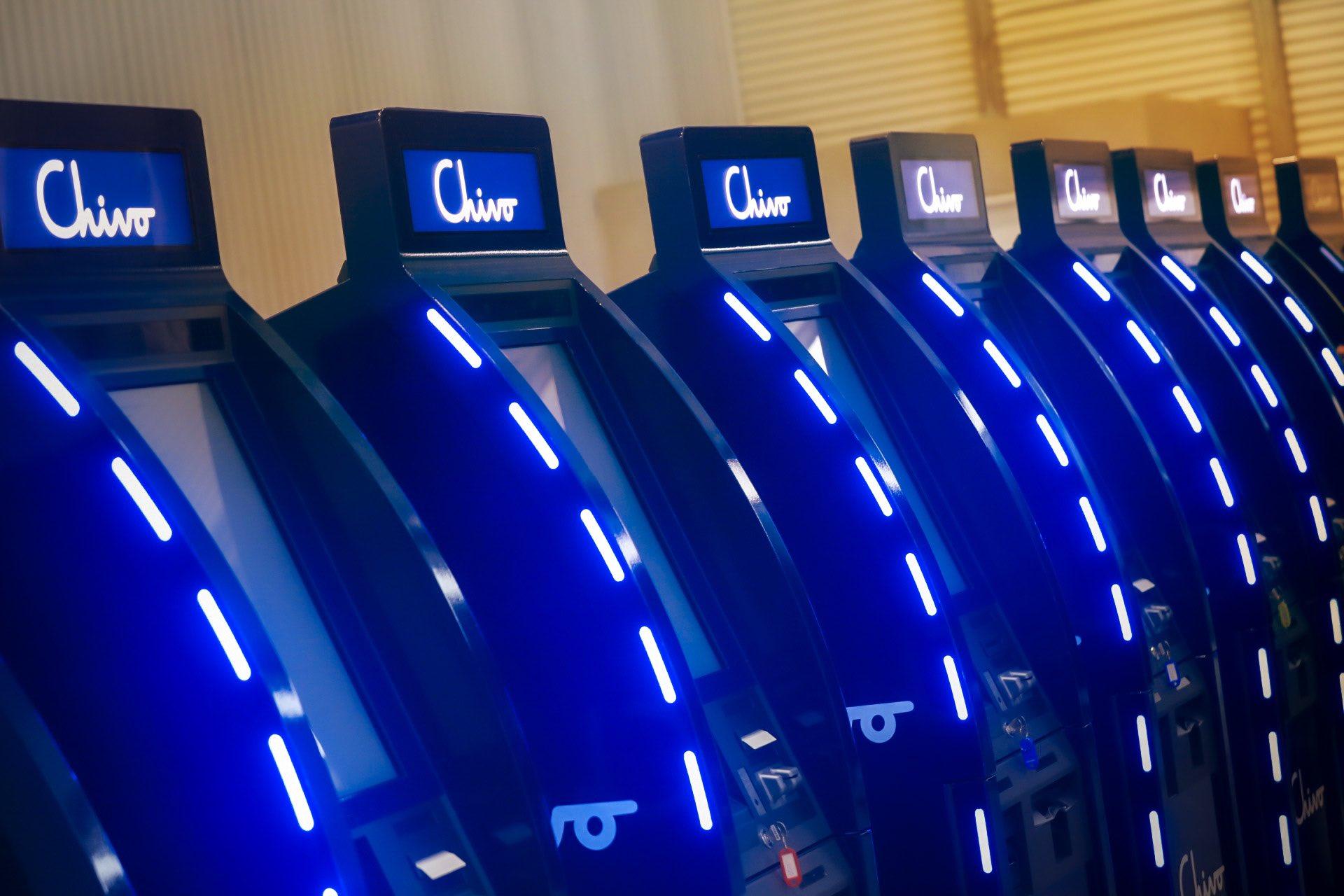 Distributeurs automatiques de bitcoins au Salvador.
